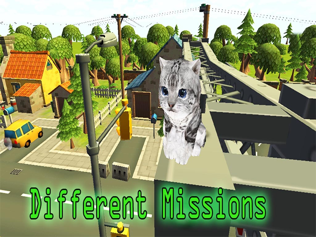Kitten Cat Pet 3d Craft Cat Vs Dog Simulator Online Game Hack