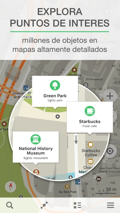 download MAPS.ME – Mapa offline con GPS apps 2