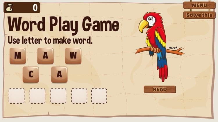 Word Play Amazon Animal screenshot-4
