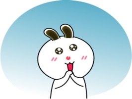 Sweet Rabbit Animated stickers by Nuy hoho