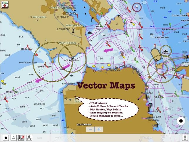 I Boating Marine Charts Gps On The