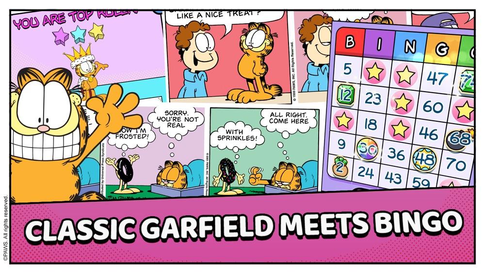 Garfield's Bingo Cheat Codes