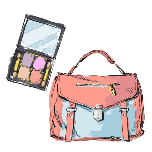 Stylish Girl Beauty and Fashion Sticker Pack 3