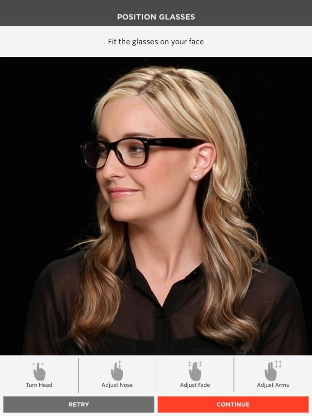 Glasses.com Screenshot