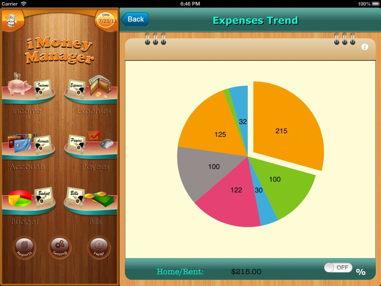 Home Budget Manager HD for iPad screenshot-4