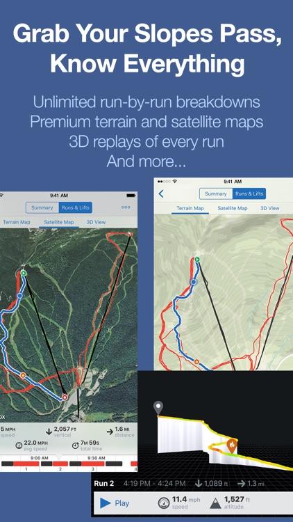 Slopes: Skiing & Snowboarding GPS Tracker screenshot-4