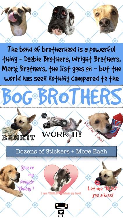 Bog Brothers Sticker Pack