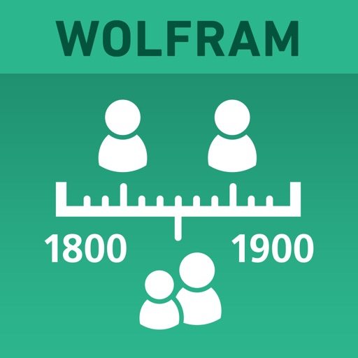 Wolfram Genealogy & History Research Assistant icon