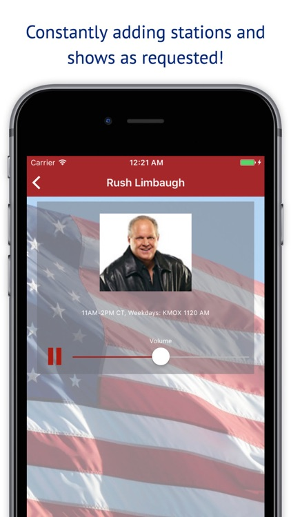 Conservative Talk Radio Plus - Live Hosts Stations