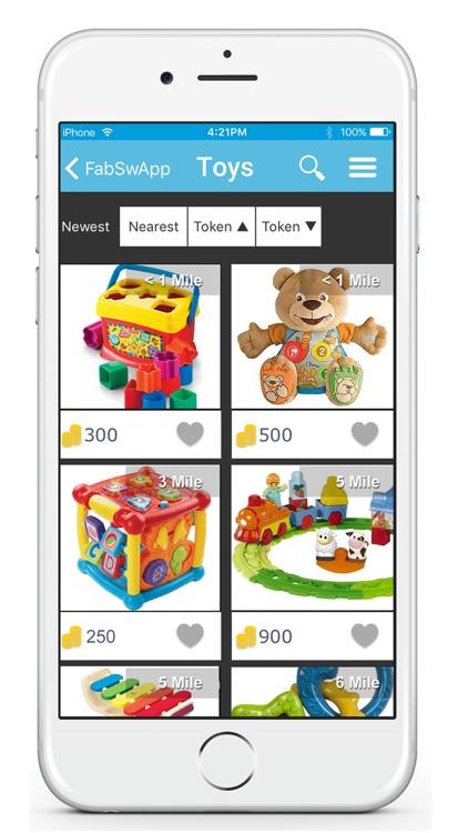 FabSwapp: Get Free Stuff Locally screenshot-3
