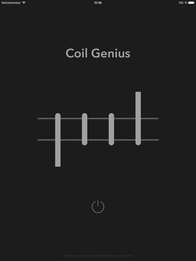 ‎Coil Genius Screenshot
