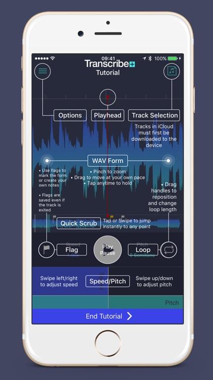 Transcribe+ Elegant Slow Downer and Time Strecher screenshot-4