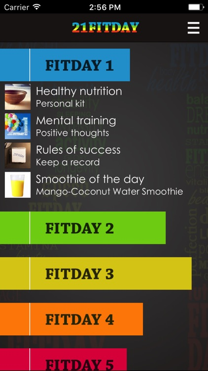 21Fitday screenshot-1