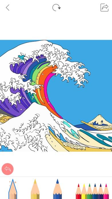 大人の塗り絵 Colorgram : ひみつの花園スクリーンショット3