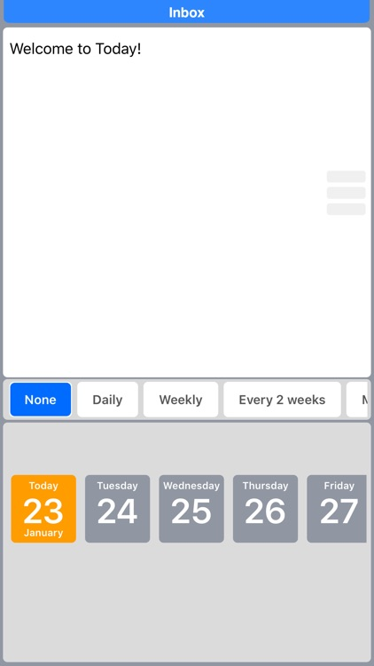 Today To-Do: Clever Task Management screenshot-3