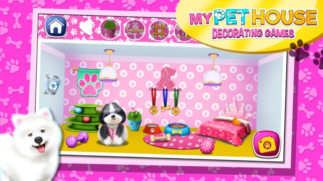 My Pet House Decorating Game S Animal Home Design On The App Store