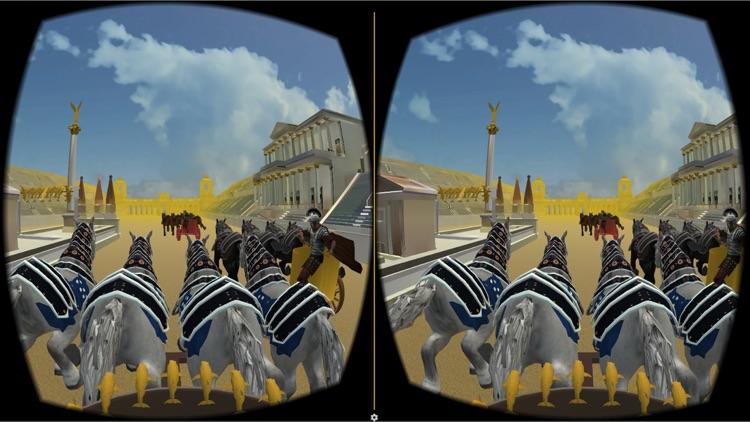 Rome Circus Maximus: Chariot Race. Cardboard VR
