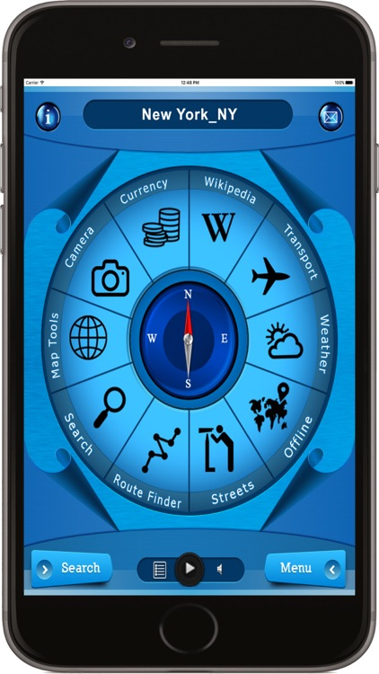 New York USA - Offline Maps navigator