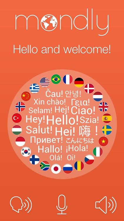 Mondly: Learn 33 Languages: Spanish English French screenshot-0