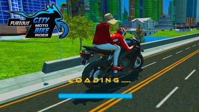 猛烈な都市バイク ライダー-レースのシミュレーターのゲームのおすすめ画像3