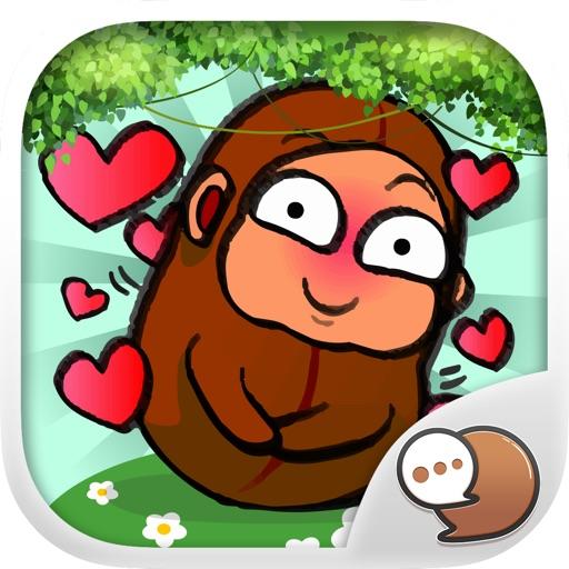 Bean Boy Stickers Emoji Keyboard By ChatStick