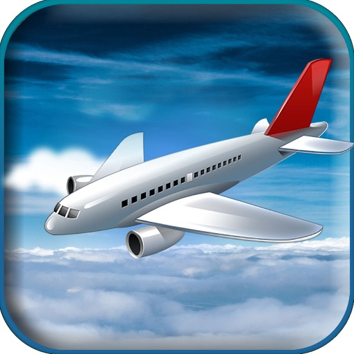 Airspin Aeroplane Adventure : Real Sky flight Sim icon