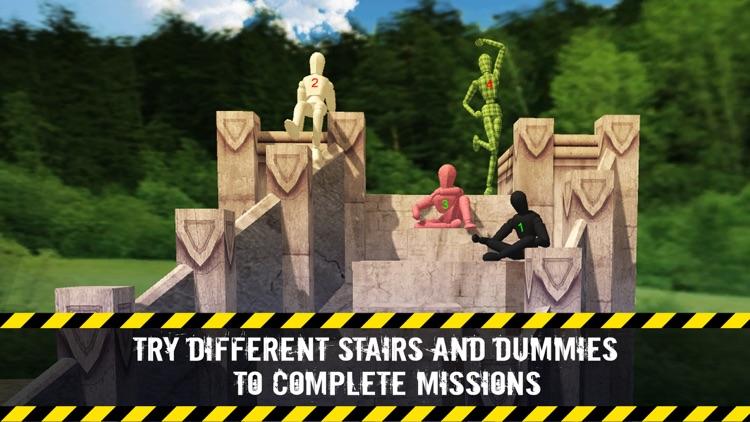 Stair Dummy Crash Test Simulator 3D screenshot-3