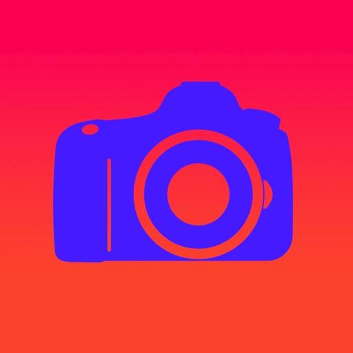 Glow Camera - Take Cool Neon Glam Selfie Photos