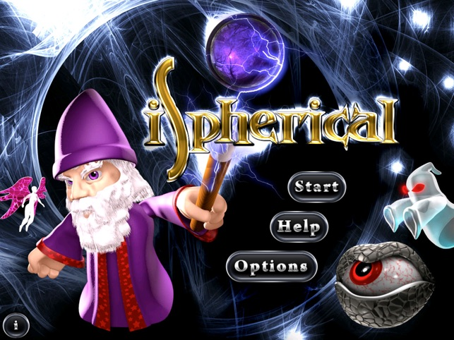 iSpherical - A Wizard's Journey Screenshot