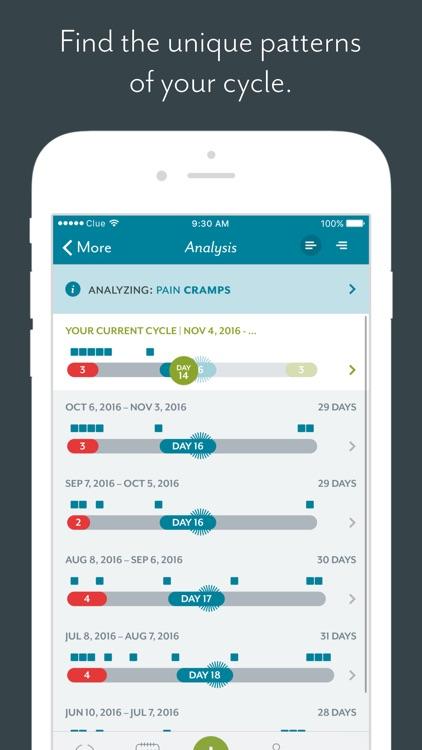Clue Period Tracker screenshot-4