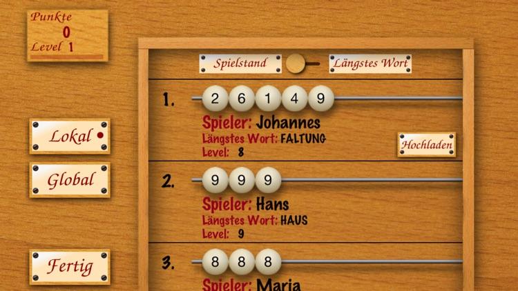 Word Abacus Deutsch