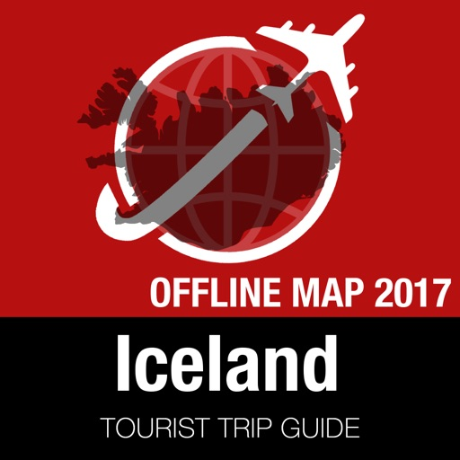 Iceland Tourist Guide + Offline Map
