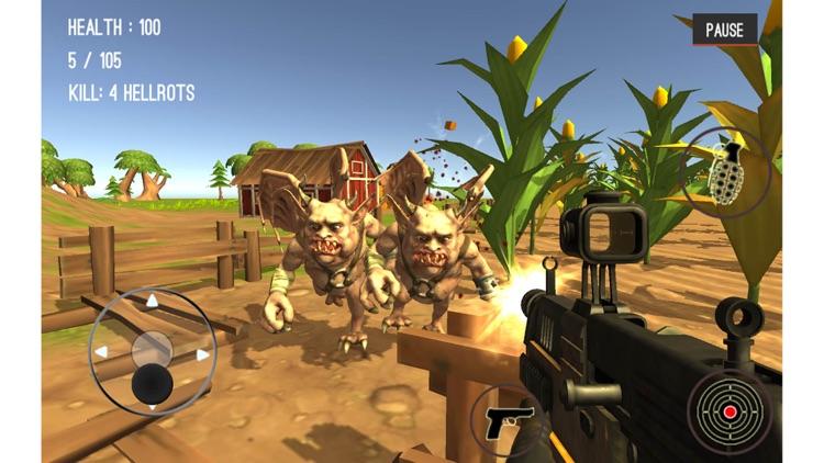 Monster Hunting City Shooting