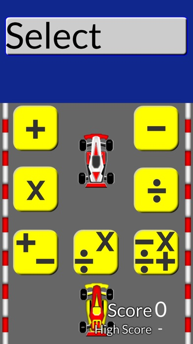 Math Drill Racing: Addition and Much More