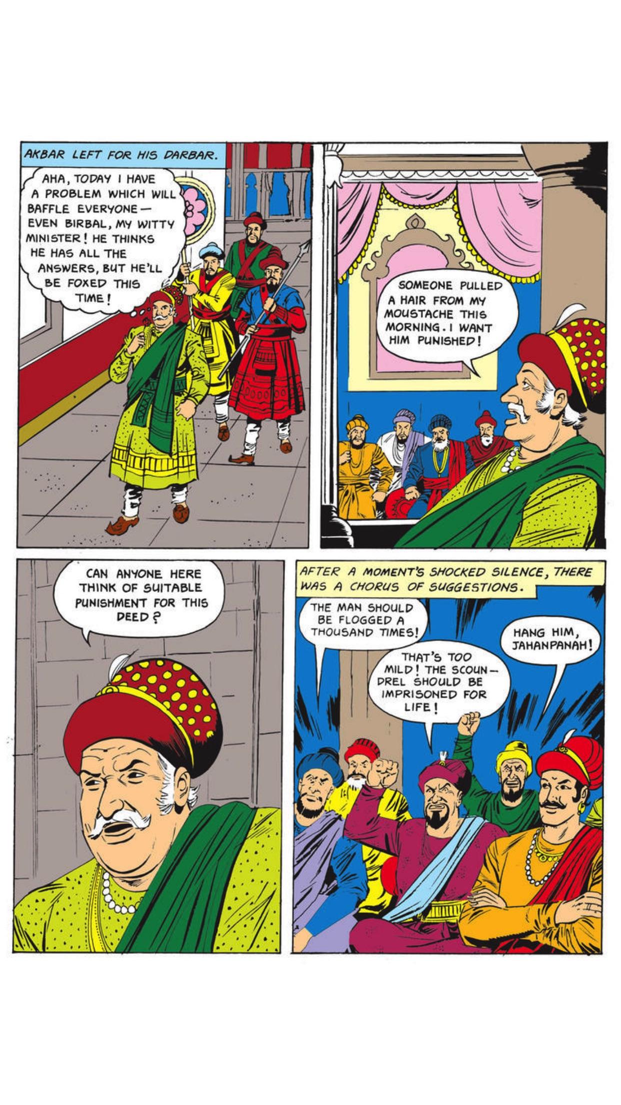Birbal The Clever- Amar Chitra Katha Screenshot