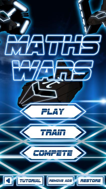 Maths Wars - Times Tables Multiplication Math Game screenshot-0
