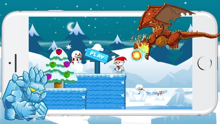 Snowman Run Adventure And Jump Game screenshot-4