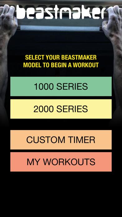 Beastmaker Training App screenshot1