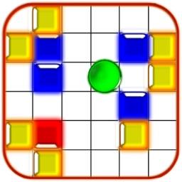 A maze puzzle 2D