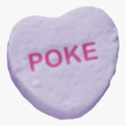 Candy Hearts Stickers #1 for iMessage