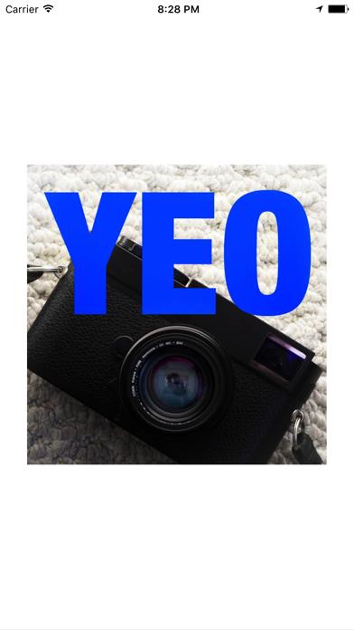 YEO - 萩庭桂太 写真記事連載 YOUR EYES ONLY screenshot one