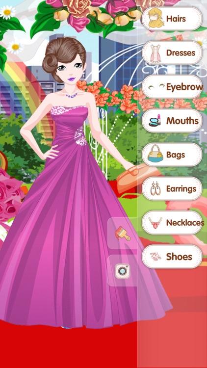 Elegant dress - Fashion Dress up Salon screenshot-3