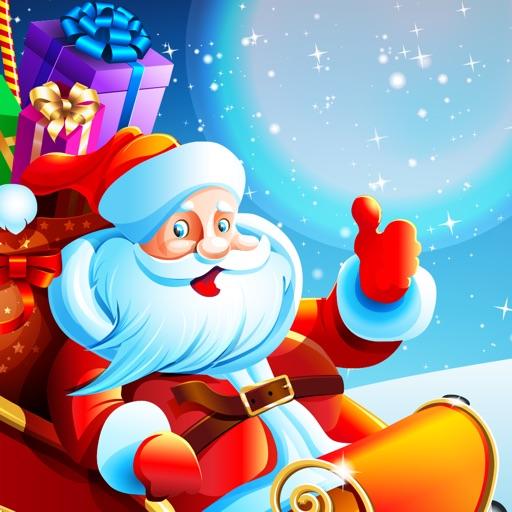Santa Snow Surfer- Christmas Runner Game