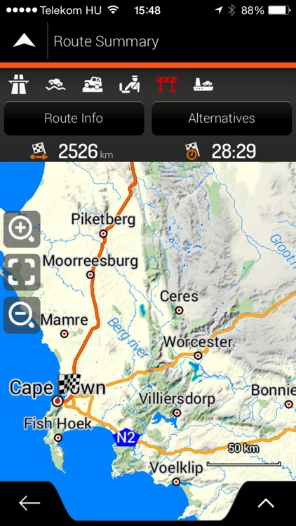 Tracks4Africa Overland Navigator screenshot-1