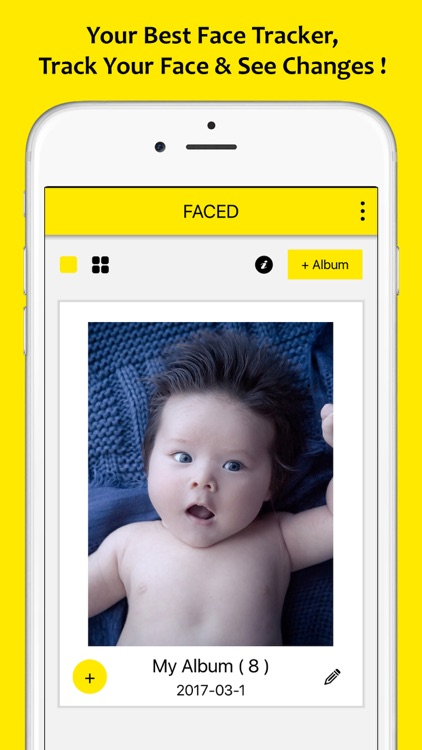FACED – Face Changes Tracker (Photo & Slideshow)