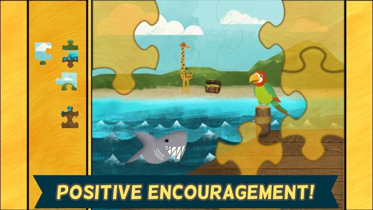 Pirate Preschool Puzzle - Toddler Games Complete screenshot-4