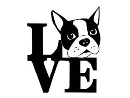 Over 40 wonderful and elegant Boston Terrier stickers for iMessage
