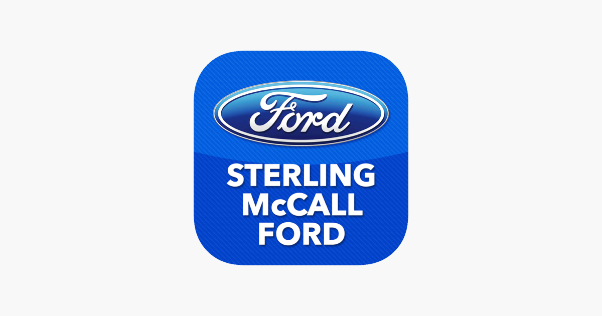 Sterling McCall Ford On The App Store