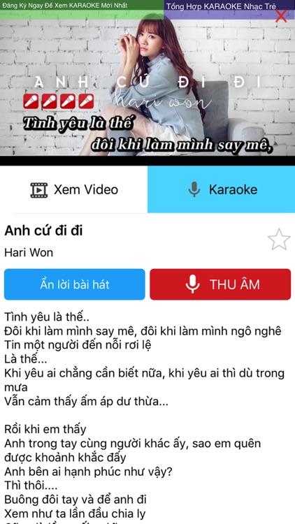 Hat Karaoke Viet Nam - Pro screenshot-4