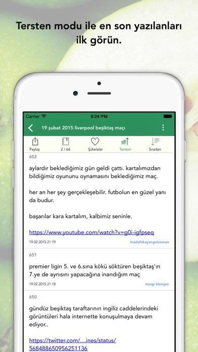 EkşiElma - ekşi sözlük mobil uygulaması screenshot three